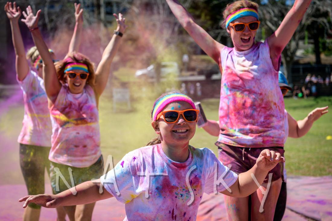 colour explosion fun run