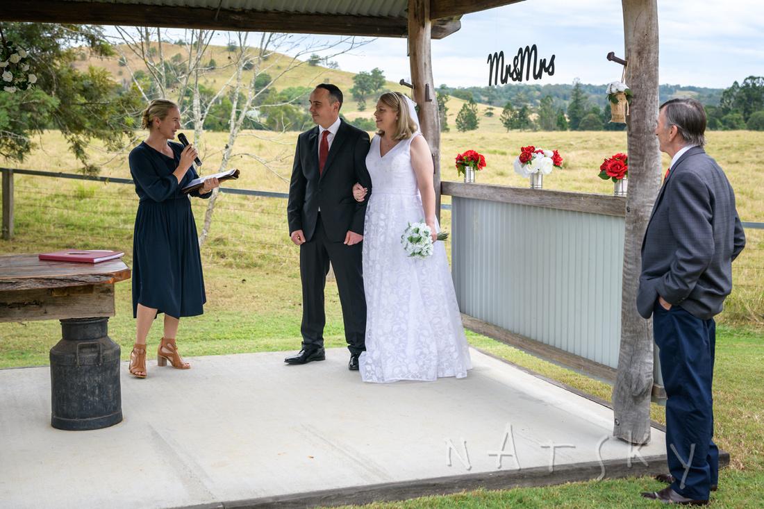 northern rivers wedding