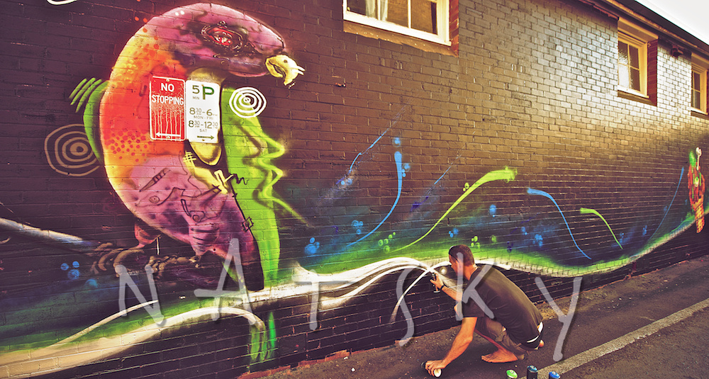 Lismore Event Photography Street Art