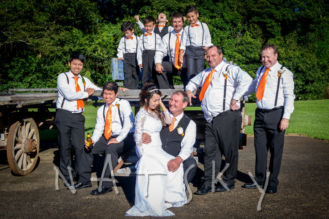WOLLONGBAR WEDDING PHOTOGRAPHER