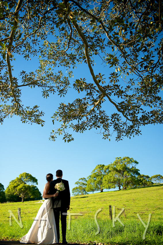 bangalow wedding couple