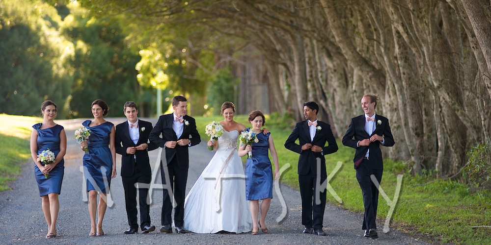 bangalow bridal party